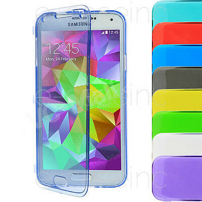 COQUE CASE GEL SILICONE FLIP COVER SAMSUNG GALAXY S3 S4 Mini S4 S5 S6 S7 /Edge +