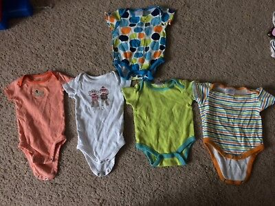 baby clothes 5 piece lot - 0-3 months