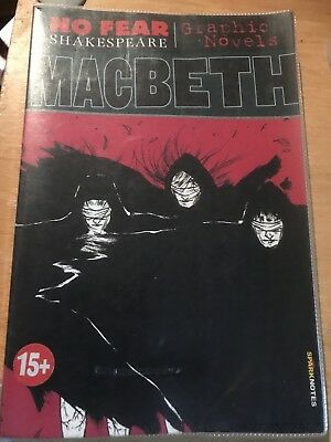 No Fear Shakespeare Graphic Novel - MACBETH -