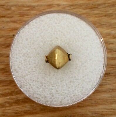 *AUTHENTIC* Ancient ROMAN Solid Gold bead Circa 100BC-100AD