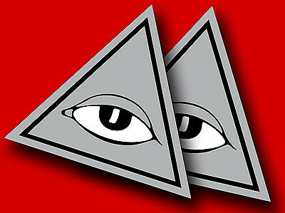 """Bronson All Seeing EYE *SALE***$8.00***NEW Sets NOW 4.5"""" X 4"""" **FREE SHIP"""