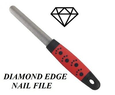 PRO GRADE DIAMOND EDGE NAIL FILE DOG Cat Claw Beak Pet Bird Reptile Grooming