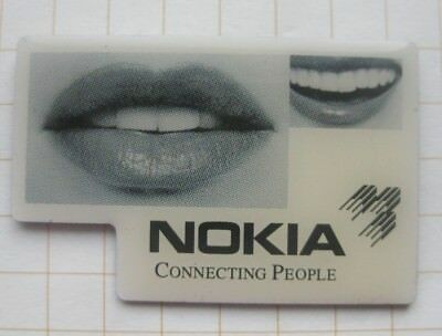 NOKIA / MUND / CONNECTING PEOPLE ............... Handy Pin (167e)