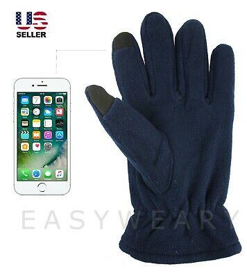 Mens Womens Fleece Winter Thermal Touchscreen Phone Smart Thinsulate Snow Gloves
