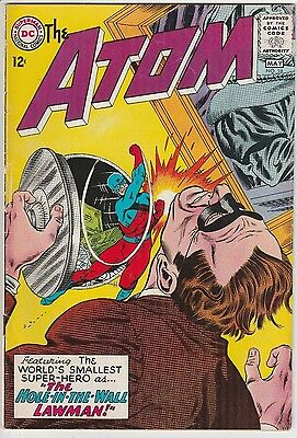 US DC comic Silver Age; THE ATOM # 18 CENTS COPY GRADED FN