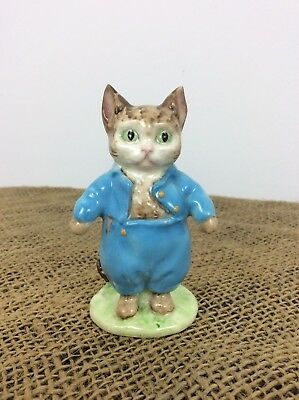 Beswick Beatrix Potter - Tom Kitten - Warne & Co - Oval Stamp