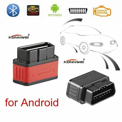 KW903 ELM327 OBDII OBD2 Wireless Bluetooth Car Diagnostic Scanner Code Tool KA
