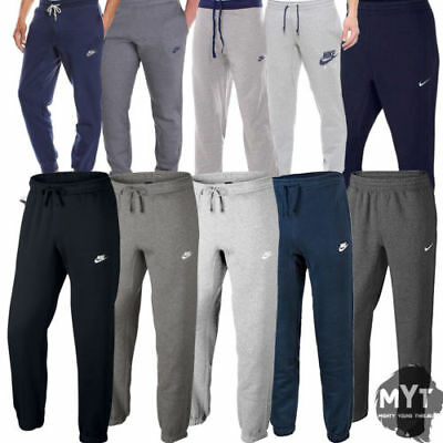 a9a24b21b11031 New Mens Nike Tapered Club Joggers Air Fleece Track suit Bottoms Jogging  Pants