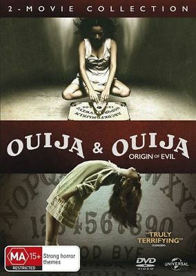 Ouija + Ouija - Origin Of Evil : 2 Movie Collection : NEW DVD