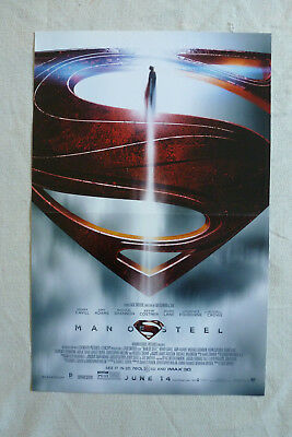 Man of Steel Movie Poster Original Rare New A3