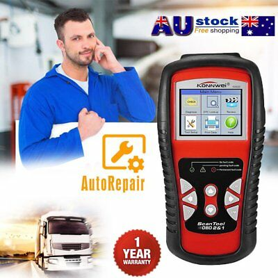 KW830 AL519 CAN Car UPto OBD2/EOBD OBDII Diagnostic Scan Tool FUPlt Code KA