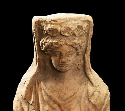 Aphrodite- Ancient Greek Terracotta Female Bust