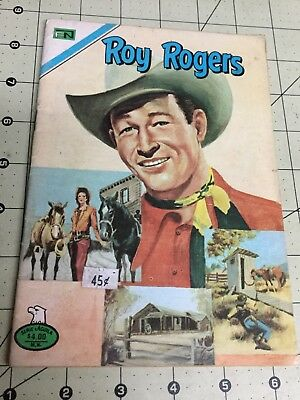 1977 Serie Aguila Roy Rogers #2 - 393 Spanish Mexican Novaro Comic Mexico