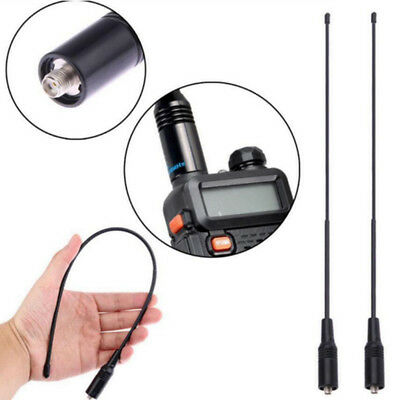 Na-771 Sma-Female Dual Band 10W Antenna For Baofeng Uv5R Uv-82 Saus Black BIJS