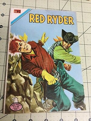 1977 Serie Aguila Red Ryder #2 - 398 Spanish Mexican Novaro Comic Mexico