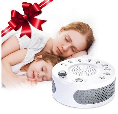 Liaboe White Noise Machine, Sound Baby Sleep Machine, 9 Soothing Sounds