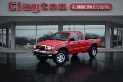 2003 Toyota Tacoma XtraCab Automatic 4WD 2003 Toyota Tacoma Xtra Cab 3.4L V6 4WD TRD Pkg 1 Owner Clean Carfax Low Miles!