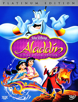 ALADDIN (DVD, 2004, 2-Disc Set, Special Edition) Brand New!