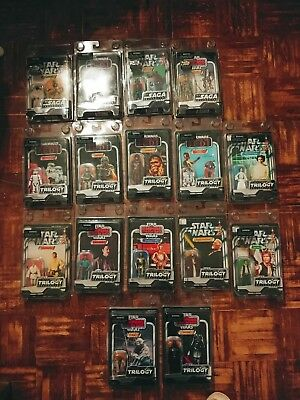 Star Wars The Vintage Collection Lot Of 16 Saga & Trilogy All Different Kenner