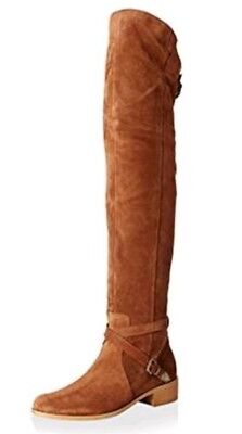 6373c73eab19 Charles David Gianna Boots Brown Suede Over The Knee Boots Size 6.5 M  450