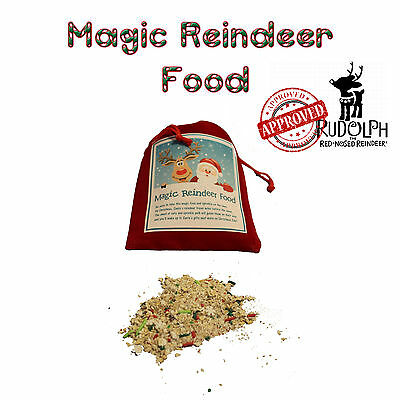 Magic Reindeer Food Christmas Eve Kids Family Unique gifts for Holidays