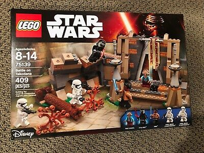 LEGO Star Wars: Battle on Takodana Building Set 75139 - New & Factory Sealed NIB