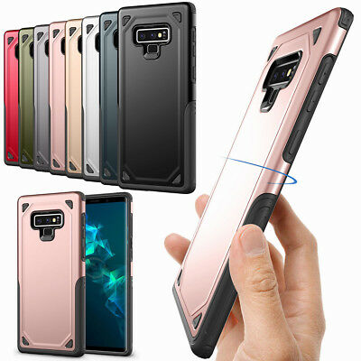 Thin Slim Non-slip Rugged TPU PC Protection Case Cover for Samsung Galaxy Note 9