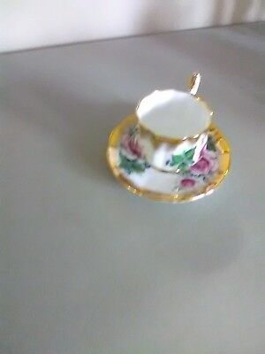 Elizabethan English Fine Bone China Cup and Saucer