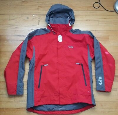 Gill INJ4 Coast Sport Jacket, Size Large, Color Red