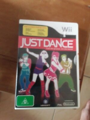 Wii  game    Just dance    as new (B)