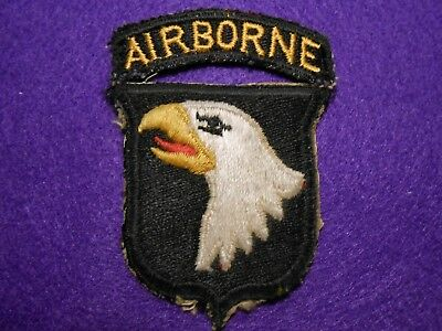 WW2 101st Airborne Inf. Div. Patch, used