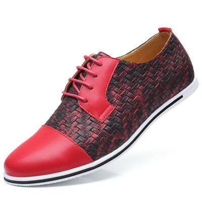 Men Leather Casual Shoes Luxury Brand Spring Male Footwear Sneakers Big Size 50