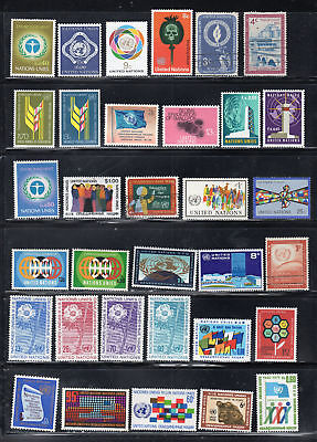 United Nations  Stamps  Mint Hinged & Used  Lot  35416