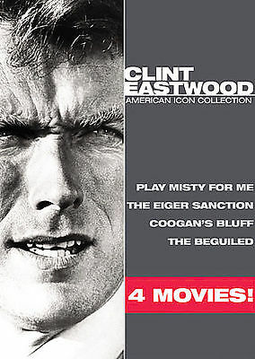 Clint Eastwood - American Icon Collection - NEW 3 DVD Set - SEALED - 4 Movies