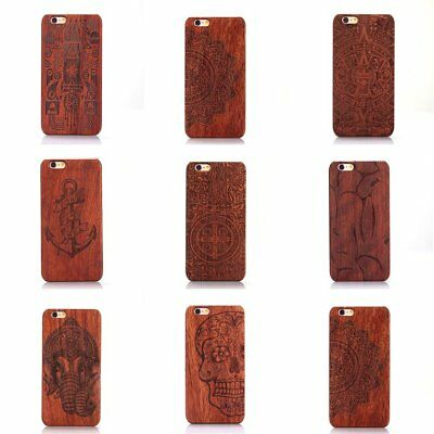 New Luxury Natural Wooden Wood Bamboo Case For  iPhone 6/6S Cover Shell DA