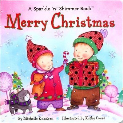 MERRY CHRISTMAS (SPARKLE 'N' SHIMMER BOOKS) By Michelle Knudsen **BRAND NEW**