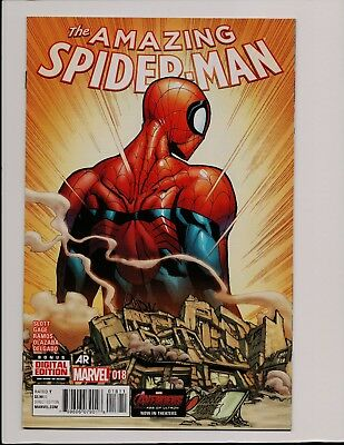 Amazing Spider-Man #18 The End of Parker Industries Slott Gage Ramos ZL