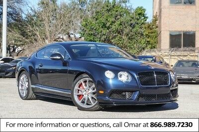 2015 Continental GT --
