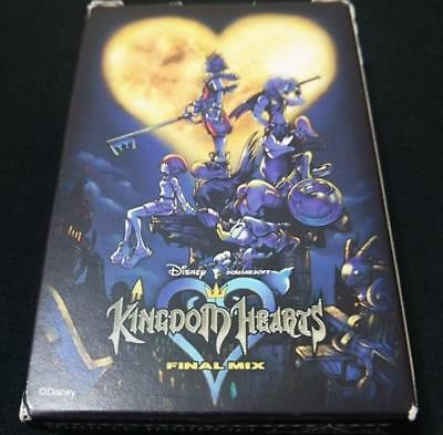 Square Enix Disney Kingdom Hearts Very Rare Booking Award Limited Playing Cards