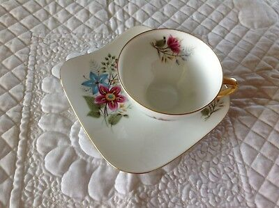 Vintage Westminister Fine China Tea Cup And Saucer