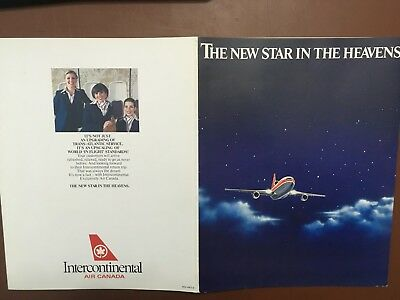 1980's Air Canada Introduces Intercontinental Improved Seating Executive Class