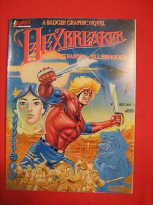 HEXBREAKER: A BADGER GRAPHIC NOVEL By Mike Baron **BRAND NEW**