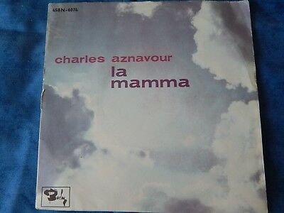 CHARLES AZNAVOUR - La Mamma (Single)