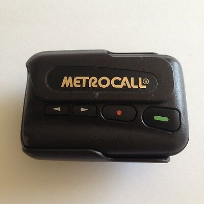 Metrocall Motorola Pager/beeper (With Belt Clip Holder)