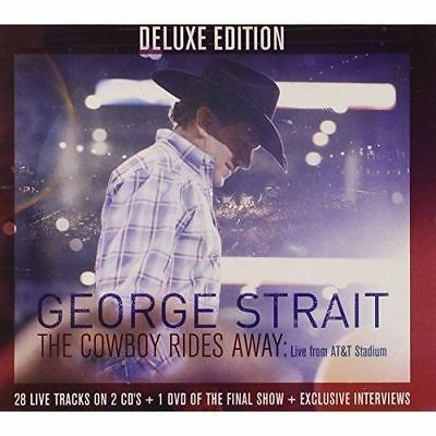 George Strait The Cowboy Rides Away Deluxe Edition 2CD+DVD