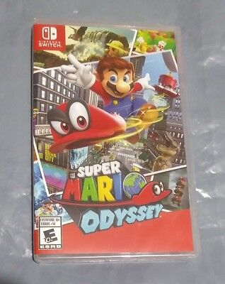 Super Mario Odyssey (Nintendo Switch) - Brand New - Factory Sealed - fast ship!