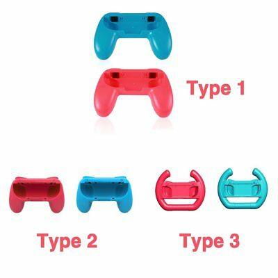2X For Nintendo Switch Joy-Con Grips Kit Controller Handle Handheld Holder LOTZ+