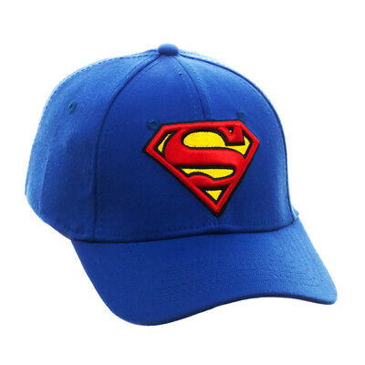 96f6c557aed Official Licensed Product Superman Cap Hat Baseball Blue Adult Gift New