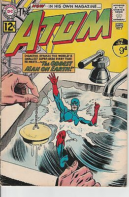 US DC comic Silver Age; THE ATOM #2 VG to FINE