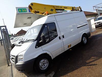 2007 Ford Transit T350 Mwb Medium Roof 2.4 Tdci Versalift 36Nf Cherry Picker
